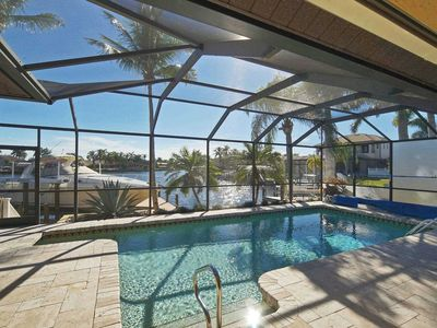 Photo for SWFL Rentals - Villa Bayview - Direct Gulf Access Vacation Home in prime location