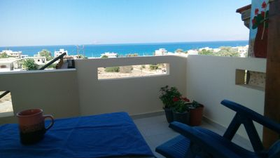 Photo for Michael's studio near sea near Matala amazing view south Crete
