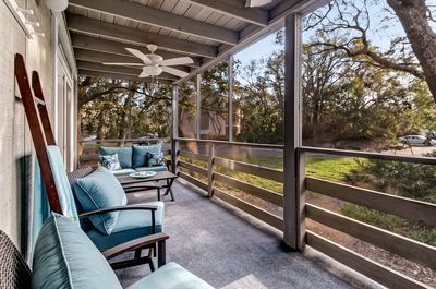 Gorgeous Views from this Large Screened In Porch