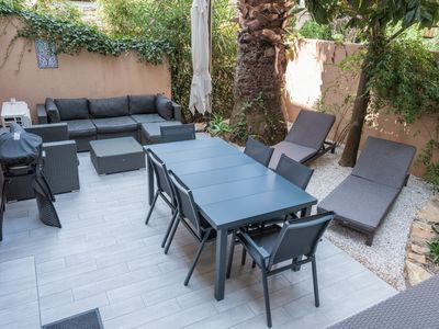 Photo for Saint-cyr-sur-mer 30 meters from the sea and all amenities, restaurants, port