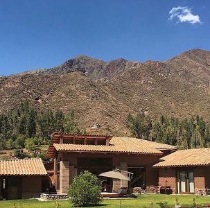 Photo for Luxury house in Sacred Valley. Modern comfort, rustic style, stunning views