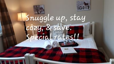 Photo for 2 Private Bedrooms / Sleeps 4 in Home in Cozy, Country Setting