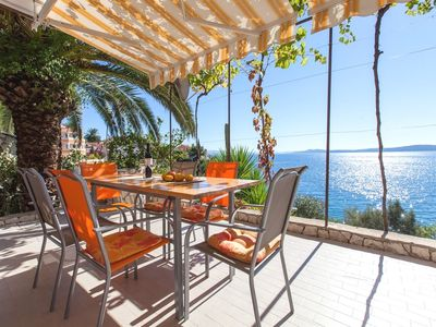 Photo for Holiday home Teo, (12694), Okrug Gornji, island of Ciovo, Croatia