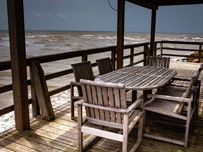 Photo for Tuck's Pointe - A Beautiful Waterfront Home Overlooking the Gulf of Mexico