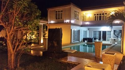 Photo for Spacious villa with private pool, zen garden, air-conditioned rooms, maid.
