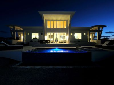 Photo for Stunning Contemporary Beach Villa w/ Private Pool, 50-Mile Ocean Views
