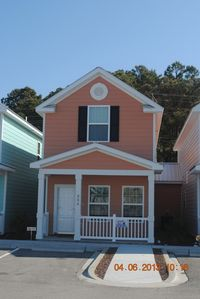 Photo for Contemporary, 2-Bedroom Cottage, 1 Block to the Beach!
