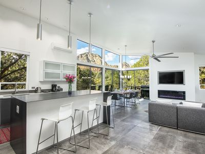 Photo for Custom Luxury Home with 180-Degree Views and Hot Tub - Sleeps 6