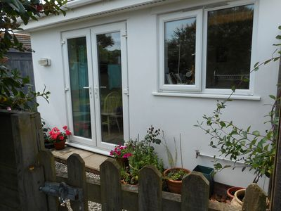Photo for Coastal Annexe With Garden And Sea Views