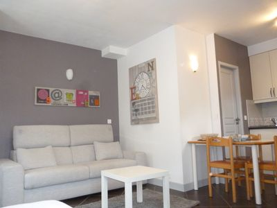 Photo for Studio with private parking Thonon center, very close to Thermes