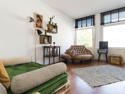 Photo for Charming studio apartment, for two people, located in Amsterdam?s vibrant Old West district.