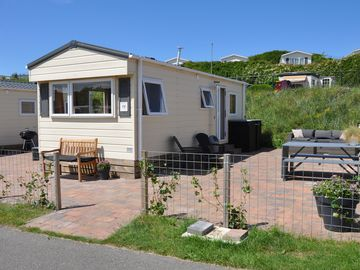 Fine mobile home for rent in the middle of the dunes! - Strandinzicht 1