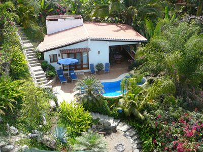 Photo for Casa Escondida ~ Your Tropical Retreat w/ Ocean View and Private Pool