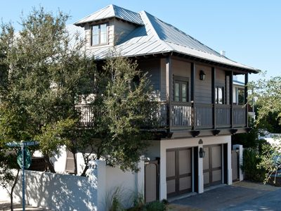 Photo for The Green Door Carriage,30A Cottages,Summer Dates Available,Steps to Coquina Pool & Beach,2 Bikes!