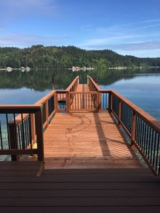 Photo for Waterfront with Dock/ 2 Mi. From Alderbrook Resort