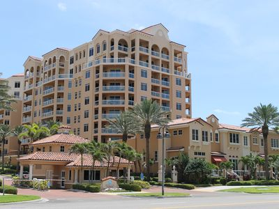 Photo for Beautiful Belle Harbor beach condo sleeps 6 and rents monthly