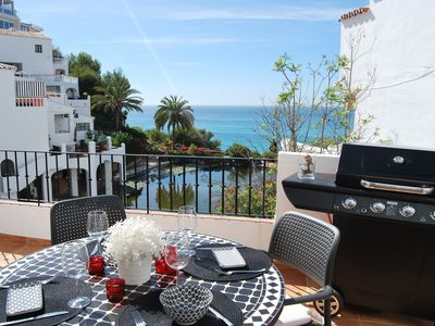 Photo for AP231 A beautifully finished two bedroom apartment with views to the sea