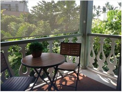 Photo for Top Floor Cozy Condo Nestled Among Tropical Kailua Kona Treetops