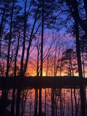 The best sunsets on the lake!