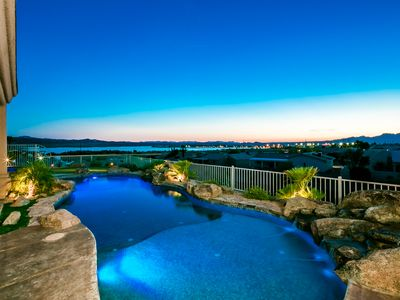 Photo for Best View in Havasu! Luxury Home with Pool /Spa /Putting Green
