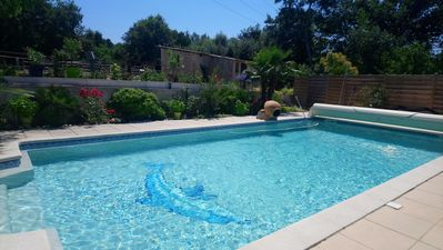 Photo for STUDIO 25 M2 in villa with swimming pool near Aix