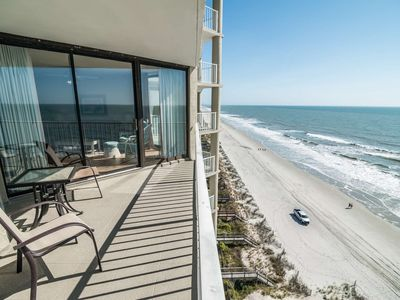 Photo for Luxury Oceanfront 2 Bedroom with Free Water Park, Aquarium, Golf & More Every Day!