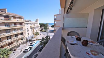 Photo for Apartment T3 - 4/6 people - Air conditioning - Downtown and immediate beach - Sainte Maxime