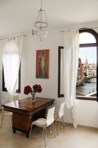 Photo for BRIGHT STAY WITH VENETIAN CANAL VIEW IN TOWN CENTER! FREE WI-FI