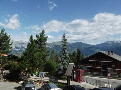Photo for Studio, 2* for 2-4 persons, situated next to the gondola lift. Living room with 2 sofa bed for each