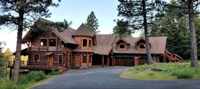 Photo for Striking 600 sq. ft. private suite on the upper floor of an amazing modern log home.