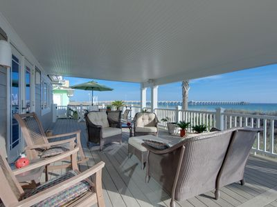 Photo for BEACHFRONT HOME AT PIER PARK