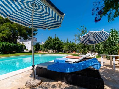 Photo for I Granai del Carmine, villa in Masseria del Carmine with private pool