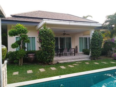 Photo for MONTAGNY VILLA PRIVATE HOUSE WITH CALM NEAR THE BEACHES