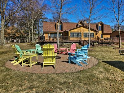 Photo for NEW! Large Home on Lake Edward w/ Deck & Fire Pit!