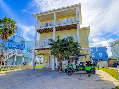 Photo for Salt and Lime: Private Pool, Boardwalk, Ocean Breezes, Free Golf Cart