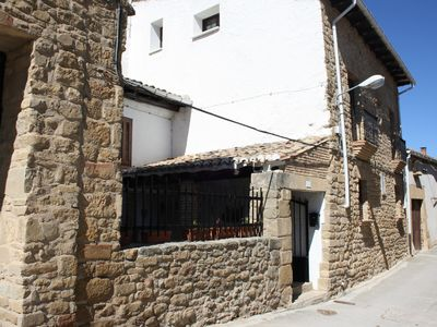 Photo for Comfortable stone house, near Pamplona and 100 meters from the medieval site of the C