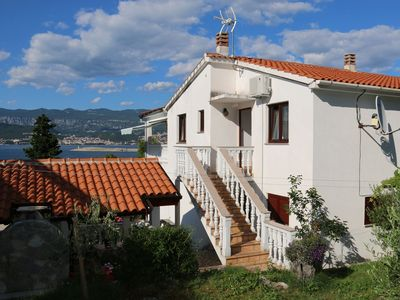 Photo for Holiday apartment with balcony overlooking the sea just 80 meters from the sea
