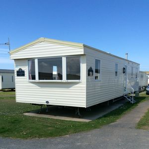 Photo for Beautiful static caravan available for hire on Haven's Perran Sands in Cornwall