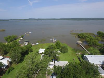 Looking West over Possum Kingdom Lake from this Property...