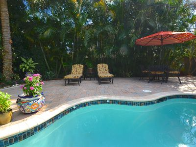 Photo for BTSVV'S-Luna: 3 BED HEATED POOL/SPA + SECURED GATED BEACH ACCESS KEY! STUNNING!