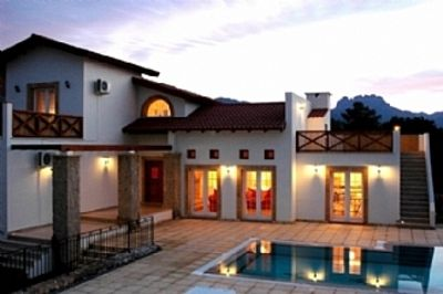 Photo for Luxury Villa with Private Pool and Sea Views Opposite the Golf and Country Club