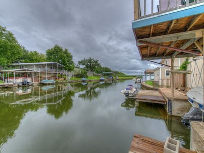 Photo for Awesome location on beautiful constant level Lake LBJ!