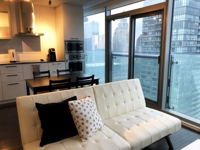 Photo for Spacious & Modern Downtown Condo - Close to CN Tower, Union & Scotiabank Arena
