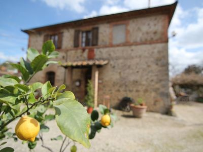 Photo for Single rooms with  private bathroom on  the hills around Siena