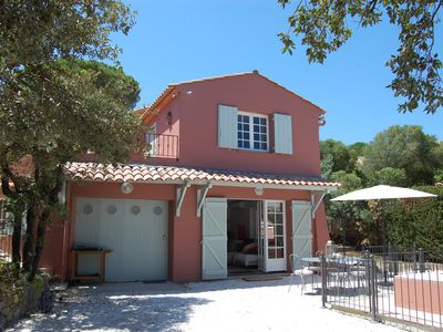 Photo for Charming Provencal house located 15 min walk from the center of Ste Maxime and the sea