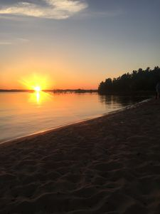 Photo for ^Now booking 2019^ Remodeled, Beautiful Sunsets on Traverse City Beach Getaway