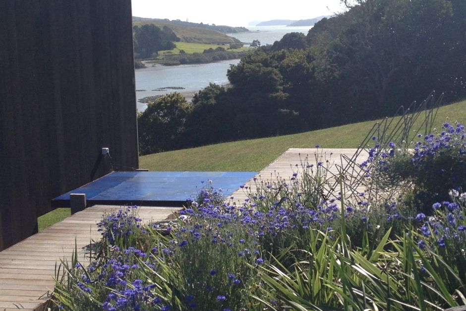 Architect's waterfront home on the Kaipara