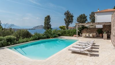 Photo for Private Villa with Pool, Sea View & Walking Distance To Beach
