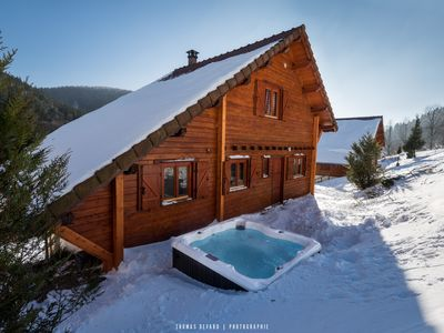 Photo for THE SKIER HIGH-Vosges: Jacuzzi, Sauna, Baby foot, 2 min from the ski slopes