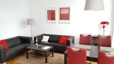 Photo for NR apartment type A, 1. OG 66m², 2 bedrooms, max. 4 pers. - Apartment at the concert house